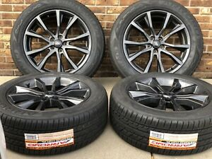 20 Ford Explorer Wheels Rims Tires Factory Oem 2016 2017 2018 Set 10113