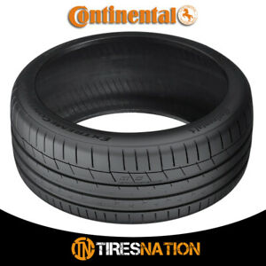 1 New Continental Extremecontact Sport 245 35r19 93y Performance Summer Tire