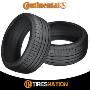 2 New Continental Extremecontact Sport 245 35r19 93y Performance Summer Tire