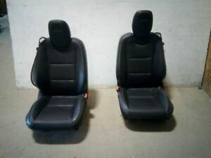 Left Right Pair Front Bucket Seats Coupe Leather Fits 12 15 Camaro 6071603