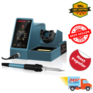 Hanmatek Soldering Iron Station Weller 392 896 Temperature Adjustable Full Kit