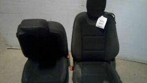 Left Right Pair Seats Bucket Coupe Cloth Electric Fits 11 Camaro 5029729