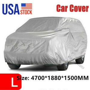 Waterproof Car Cover Anti Dust For Small Van Truck In Out Door Uv Ray Rain Snow