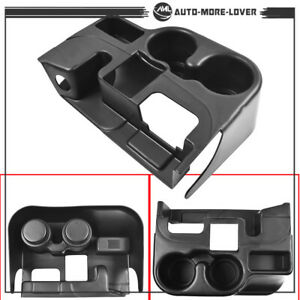 Black Center Console Cup Holder Attachment For 2003 12 Dodge Ram 1500 2500 3500