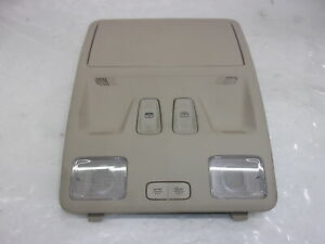 2020 Ford Escape Tan Overhead Roof Console Oem