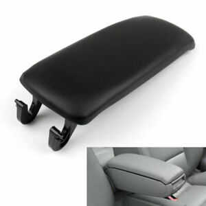 Pu Leather Center Console Armrest Cover Lid For Audi A4 S4 A6 2000 2008 Black