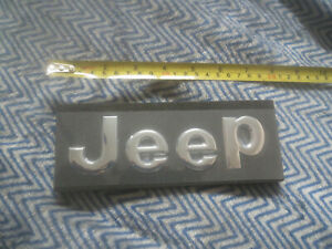 2014 2015 2016 2017 2018 2019 Jeep Grand Cherokee Hood Lettering Emblem Chrome