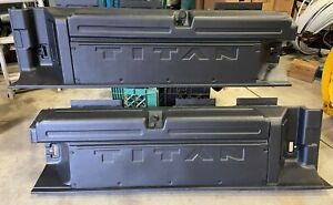 Titan Truck Bed Storage Boxes Set Of Two For Both Sides Of Bed Oem