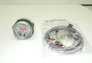 Auto Meter Ultra Lite Full Sweep Elec Oil Temp Gauge 100 340 F 2 1 16 V Good
