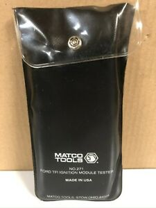 Matco Tools No 271 Ford Tfi Ignition Module Tester W instruction Sheet New