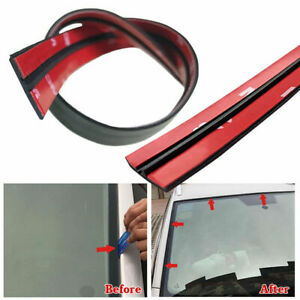 3m Car Rear Windshield Window Trim Edge Moulding Rubber Weatherstrip Seal Strip