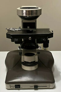 Nikon Labophot 2 Microscope base Focus Block mechanical Stage And Filter Box