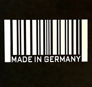 Made In Germany Decal Sticker Decal Ford Bmw Audi Mercedes Opel Porshe Chevy Vw