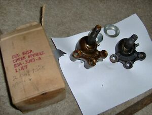1954 1955 1956 56 Ford Victoria Fairlane 1957 Thunderbird Nos Upper Ball Joints