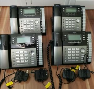 Rca 25424re1 4 line Business Phones Lot Of 4