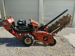 12 Ditch Witch Rt12 Walk Behind Trencher