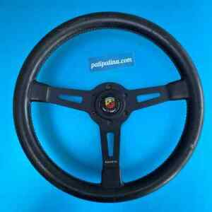 Abarth Rally Steering Wheel 350mm Porsche 911r Momo Fiat Bmw Lenkrad Volante