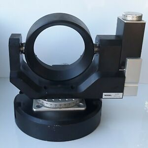Aerotech Accudex 45208 Rotary Stage With Aom 360 4 Tilt Stage