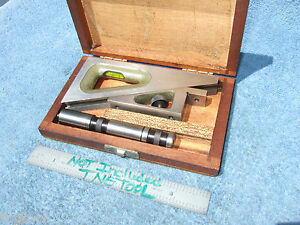Planer Gage W case Helios Machinist German Made Many More Us Made Here