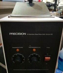 Precision Scientific Stainless Steel Benchtop Laboratory Water Bath Model 182