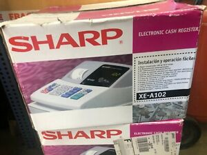 Sharp Xe a102 Cash Register With Keys Tested works