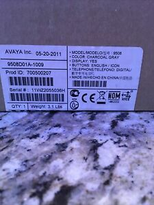 Avaya 9508d01a 700500207 New Factory Sealed