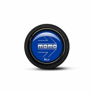 New Momo Steering Wheel Horn Button Black Blue 59mm Sport Competition Tuning