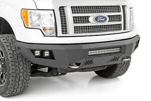 Rough Country Heavy Duty Led Front Bumper For 2009 2014 Ford F150 10767