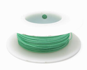 Kynar Wire Wrap Wire 30awg 100ft Green