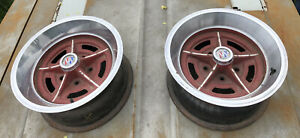 Mid 70s Buick Regal 15 X 7 Rally Wheel Rims