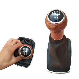 Parts Gear Shift Knob Replacement Peach Wood Grain For For 1999 2005 Mk4 Golf