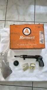 4160 Mark Ii And 4140 Piston Type Ramser Powder Actuated Concrete Nail Gun