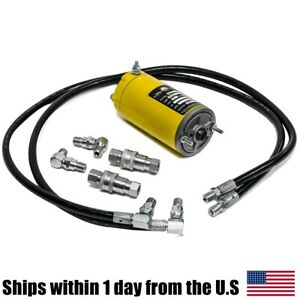 Hydraulic Motor Angle Hose Fitting Kit For Meyer E47 Snow Plows M21856 M15054