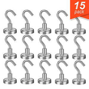 15 Strong 79 Inch Rare Earth Neodymium Hook Magnet For Industrial Applications