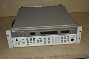 Hp Agilent 8656b Synthesized Signal Generator 0 1 To 990 Mhz gs2