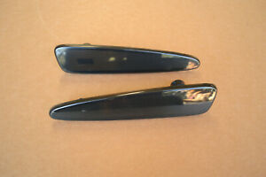 05 13 C6 Corvette Smoked Rear Turn Signal Side Markers Lights