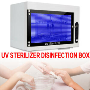Dry Heat Sterilizer Cabinet Beauty Nail Tools Disinfect Machine Automatic Time