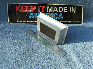 Square Beveled Edge Precision 1 03 X 3 X 4 Surface Plate Toolmaker Machinist