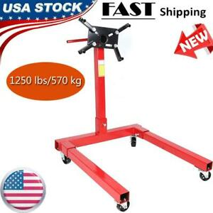 1250 Lbs Car Engine Gearbox Mount Support Stand Workshop Maintenance Equipment