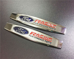 Car Metal 3d Emblem Decals For Ford Racing Performance Parts Auto Body Stickers