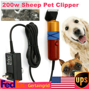 Electric Sheep Shears Clippers Animal Livestock Shave Grooming Farm Supplies