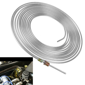 Copper Nickel Brake Line Tubing Kit 3 16in Od 25ft Coil Roll All Size Fittings