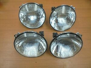 Alfa Romeo Alfetta Gt Gtv Set Of Carello Headlight H1 News