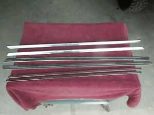 1940 Chevrolet Pickup Set 6 Hood And Cab Stainless Good Originals