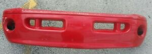 Message Before Buying Front Bumper Sport Package 99 00 01 02 Dodge Ram Red