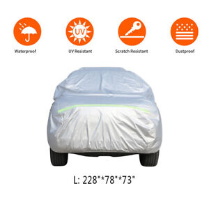 Waterproof Truck Pickup Full Car Cover Fit For Ford F 150 Sliver Pickup 4 door
