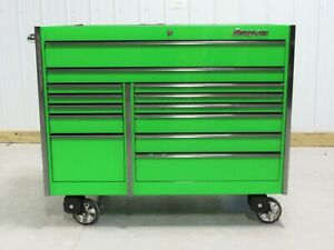 Snap On Extreme Green Krl1022 Master Series Tool Box Work Mat