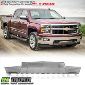 2014 2015 Chevy Silverado 1500 W z71 Package Front Bumper Skid Plate Gm1087250