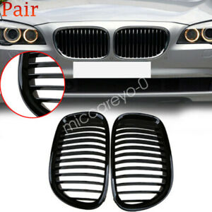 Front Kidney Grill Grille For Bmw 7 series F02 F01 F03 730 740li 750 760 2009 12