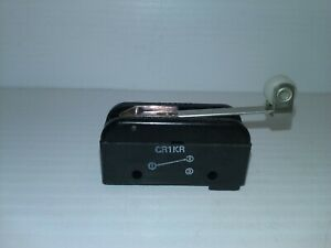 Burgess Microswitch Cr1kr Limit Switch Roller Lever 15amp 125 250 480vac